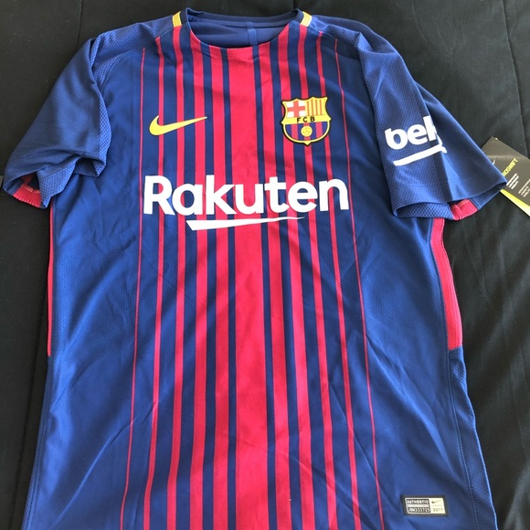 27b01704b1b FC Barcelona 17-18 AUTHENTIC Home jersey
